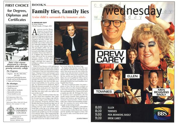 Article Preview: Family ties, family lies, November 1996 | Maclean's