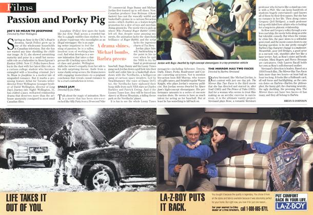 Article Preview: Passion and Porky Pig, November 1996 | Maclean's