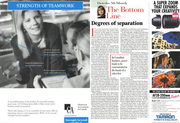 Article Preview: The Bottom Line, December 1996 | Maclean's
