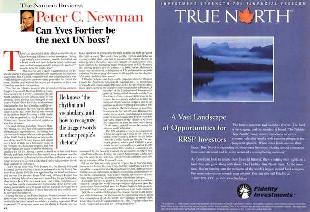 Article Preview: Peter C. Newman, December 1996 | Maclean's