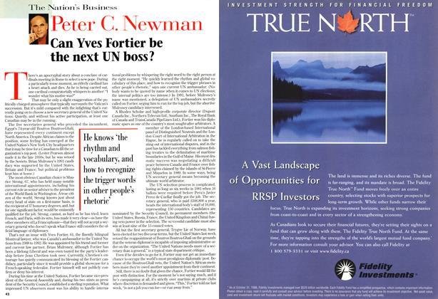 Article Preview: Peter C. Newman, December 1996 | Maclean's