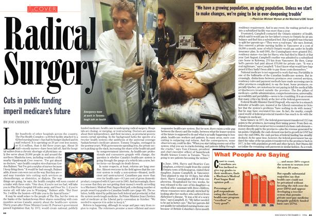 Article Preview: Radical Surgery, December 1996 | Maclean's