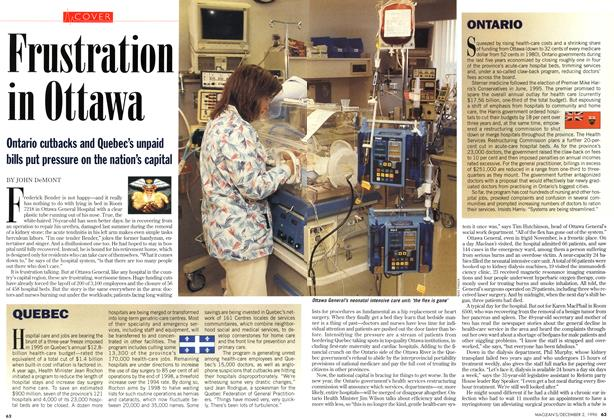 Article Preview: Frustration in Ottawa, December 1996 | Maclean's