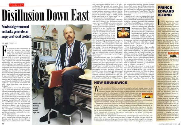 Article Preview: Disillusion Down East, December 1996 | Maclean's