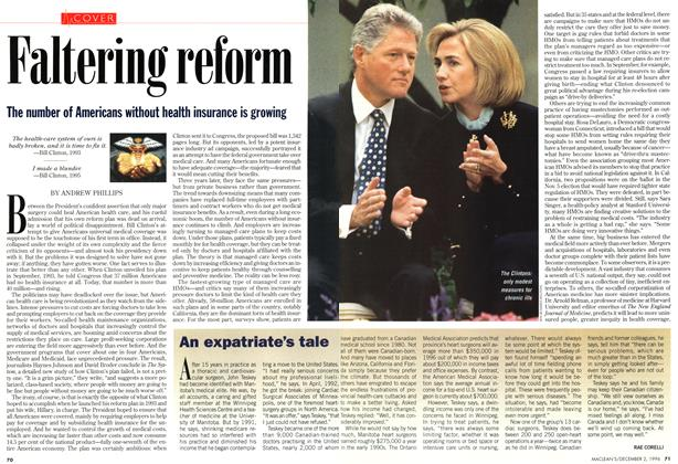 Article Preview: An expatriate's tale, December 1996 | Maclean's