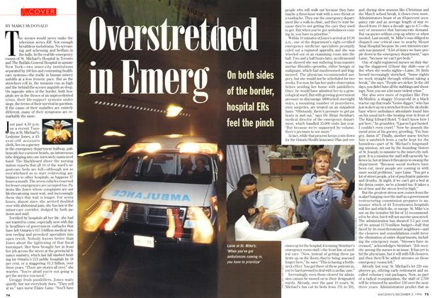 Article Preview: Overstreched in Emerg, December 1996 | Maclean's
