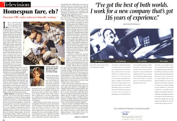 Article Preview: Homespun fare, eh?, December 1996 | Maclean's