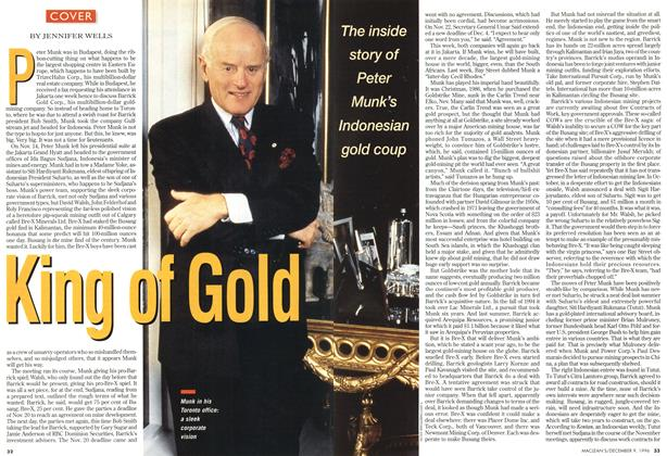 Article Preview: King of Gold, December 1996 | Maclean's