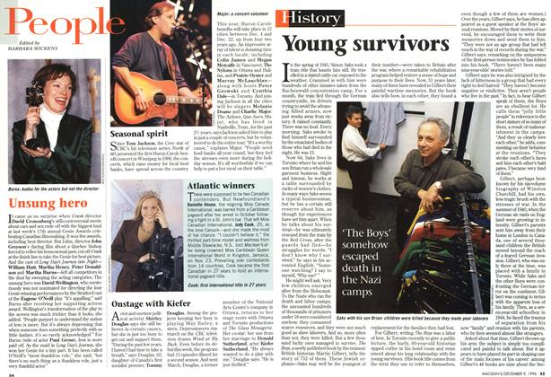 Article Preview: Young survivors, December 1996 | Maclean's