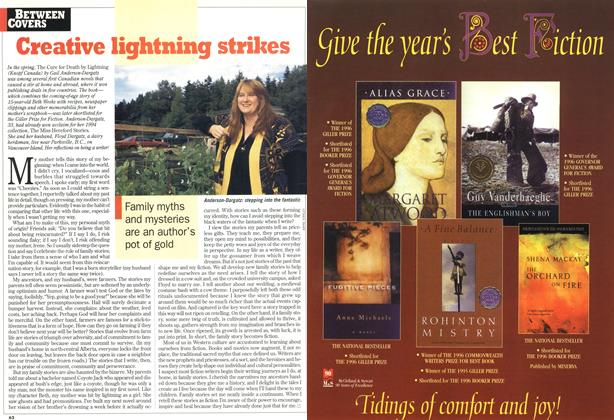 Article Preview: Creative lightning strikes, December 1996 | Maclean's