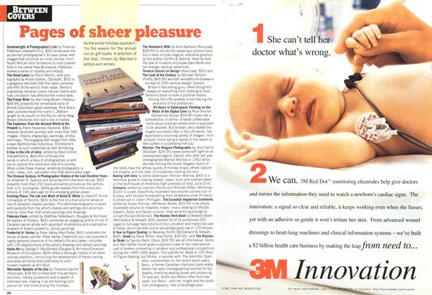 Article Preview: Pages of sheer pleasure, December 1996 | Maclean's