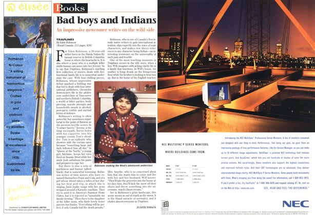 Article Preview: Bad boys and Indians, December 1996 | Maclean's