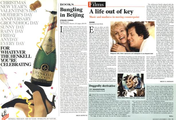 Article Preview: A life out of key, December 1996 | Maclean's