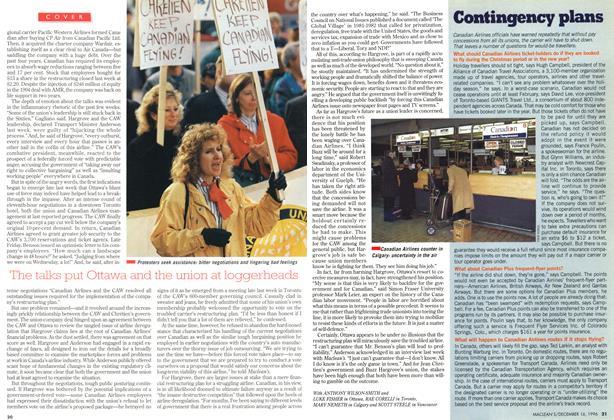 Article Preview: Contingency plans, December 1996 | Maclean's