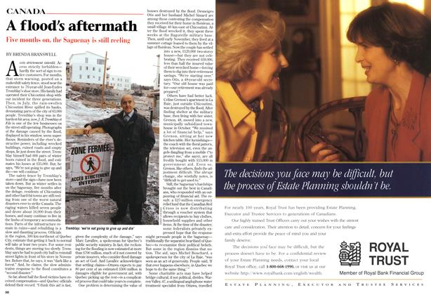 Article Preview: A flood's aftermath, December 1996 | Maclean's