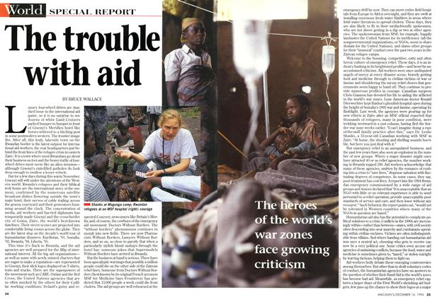 Article Preview: The trouble with aid, December 1996 | Maclean's