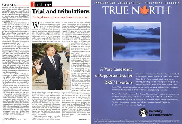 Article Preview: Trial and tribulations, December 1996 | Maclean's