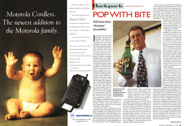 Article Preview: POP WITH BITE, December 1996 | Maclean's