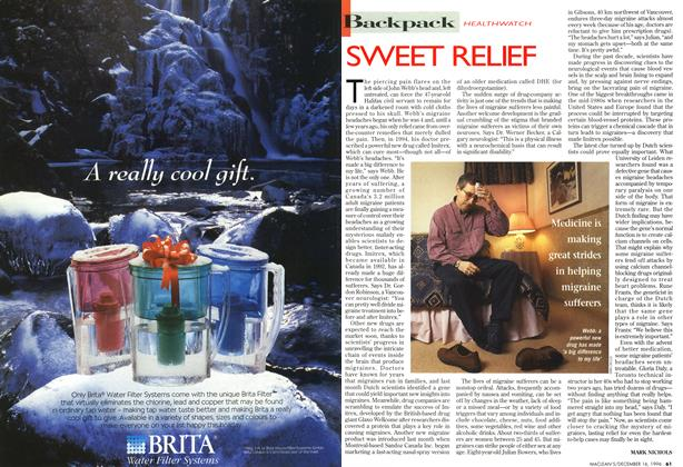 Article Preview: SWEET RELIEF, December 1996 | Maclean's