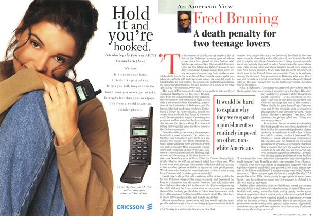 Article Preview: A death penalty for two teenage lovers, December 1996 | Maclean's