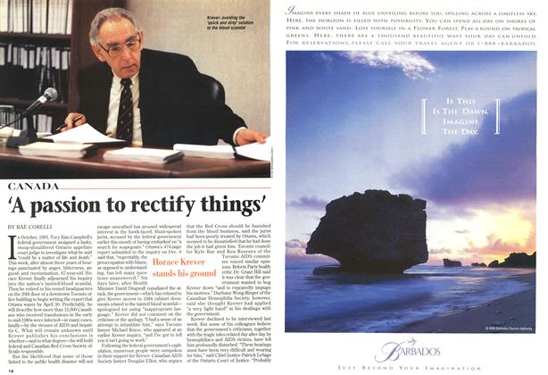Article Preview: 'A passion to rectify things', December 1996 | Maclean's