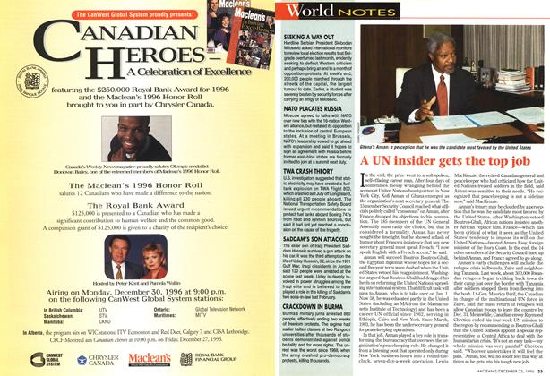 Article Preview: World NOTES, December 1996 | Maclean's