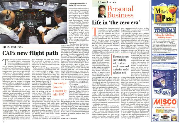 Article Preview: Life in 'the zero era', December 1996 | Maclean's