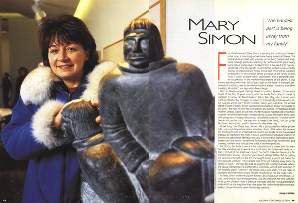 Article Preview: MARY SIMON, December 1996 | Maclean's