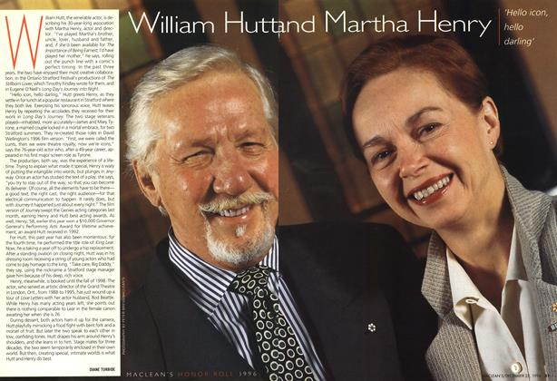 Article Preview: William hutt and Martha Henry, December 1996 | Maclean's