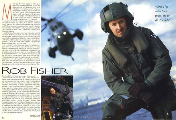 Article Preview: ROB FISHER, December 1996 | Maclean's