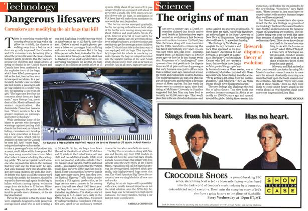 Article Preview: The origins of man, December 1996 | Maclean's