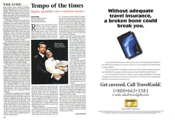 Article Preview: Tempo of the times, December 1996 | Maclean's