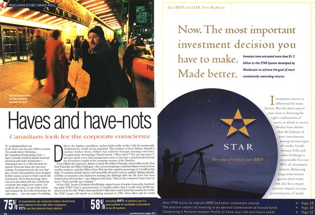 Article Preview: Haves and have-nots, DECEMBER 30, 1996/JANUARY 6, 1977 1996 | Maclean's