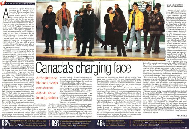 Article Preview: Canada's changing face, DECEMBER 30, 1996/JANUARY 6, 1977 1996 | Maclean's