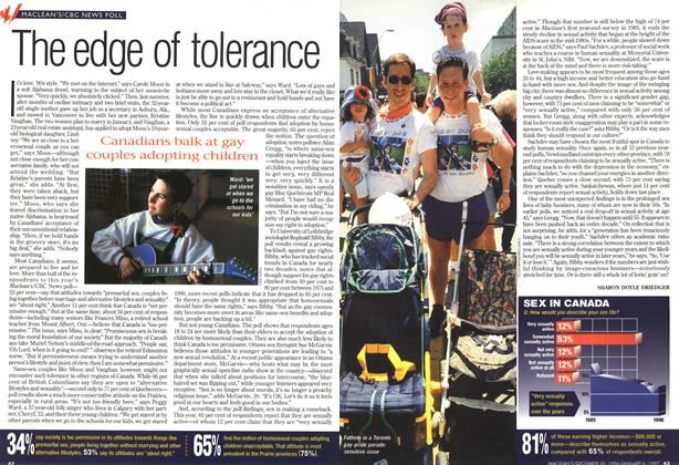 Article Preview: The edge of tolerance, DECEMBER 30, 1996/JANUARY 6, 1977 1996 | Maclean's