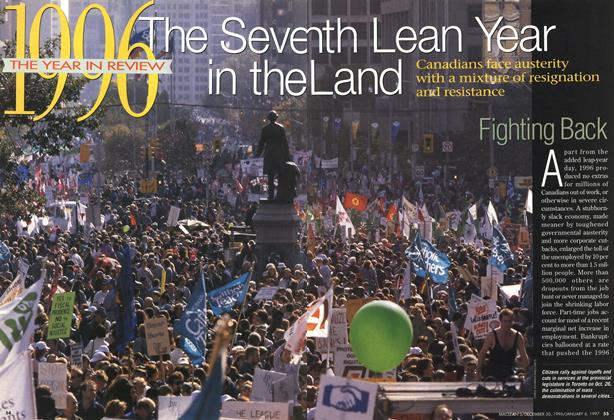 Article Preview: The Seventh Lean Year in the Land, DECEMBER 30, 1996/JANUARY 6, 1977 1996 | Maclean's