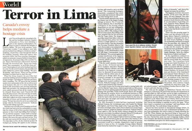Article Preview: Terror in Lima, DECEMBER 30, 1996/JANUARY 6, 1977 1996 | Maclean's