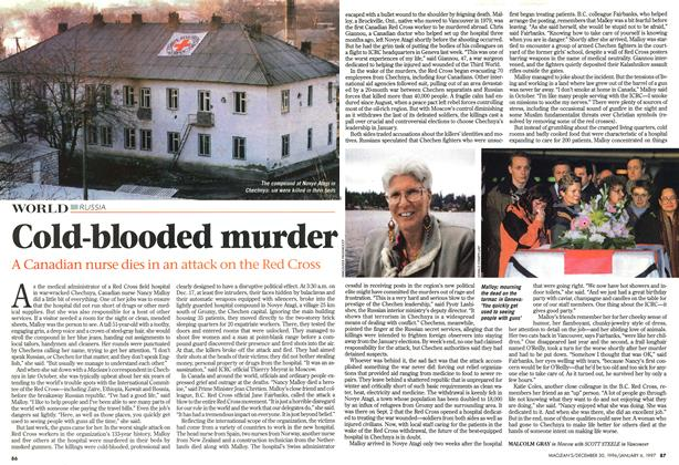 Article Preview: Cold-blooded murder, DECEMBER 30, 1996/JANUARY 6, 1977 1996 | Maclean's