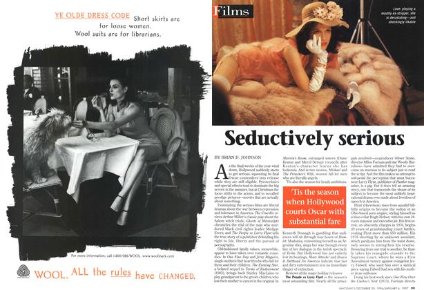 Article Preview: Seductively serious, DECEMBER 30, 1996/JANUARY 6, 1977 1996 | Maclean's