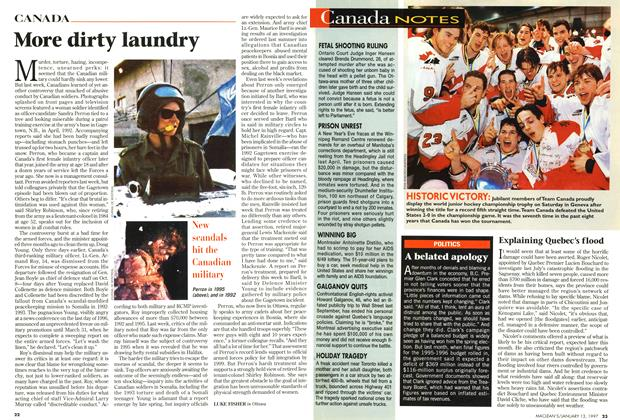 Article Preview: More dirty laundry, January 1997 | Maclean's