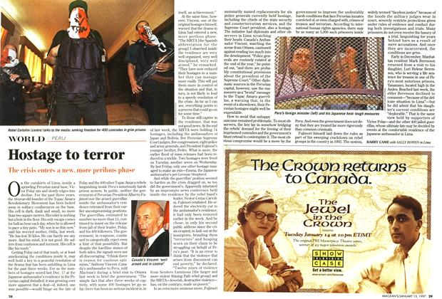 Article Preview: Hostage to terror, January 1997 | Maclean's