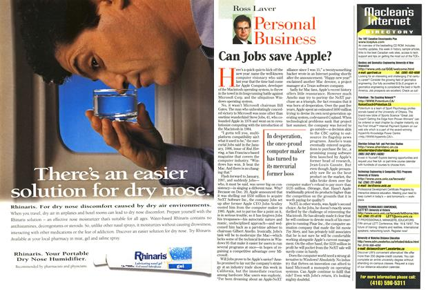 Article Preview: Can Jobs save Apple?, January 1997 | Maclean's