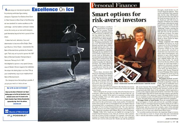 Article Preview: Smart options for risk-averse investors, January 1997 | Maclean's