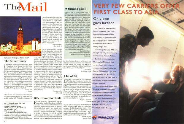 Article Preview: The Mail, January 1997 | Maclean's