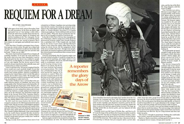 Article Preview: REQUIEM FOR A DREAM, January 1997 | Maclean's