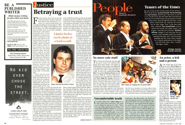 Article Preview: Betraying a trust, January 1997 | Maclean's