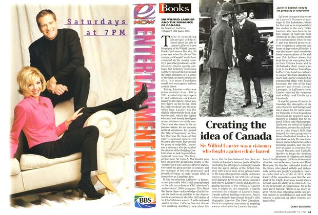 Article Preview: Creating the idea of Canada, January 1997 | Maclean's
