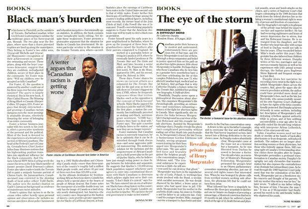 Article Preview: The eye of the storm, January 1997 | Maclean's