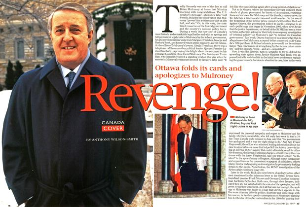 Article Preview: Revenge!, January 1997 | Maclean's