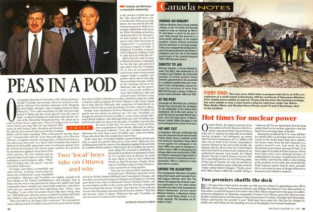 Article Preview: PEAS IN A POD, January 1997 | Maclean's